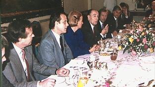Mitterrandova snídaně s disidenty v roce 1988