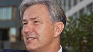 Klaus Wowereit, odstupující starosta Berlína