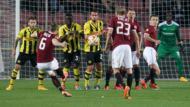První zápas Sparta proti Young Boys zvládla, doma vyhrála 3:1