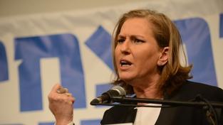 Několikanásobná izraelská exministryně a předsedkyně strany ha-Tnu'a (Hnutí, Pohyb) Cipi Livniová