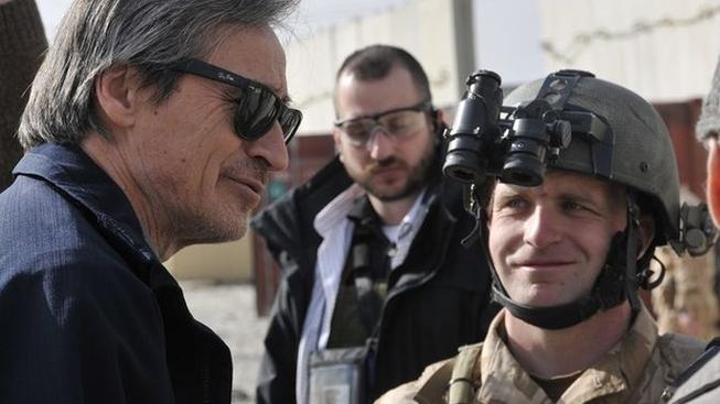 České vojáky v Afghánistánu navštívil ministr obrany Martin Stropnický