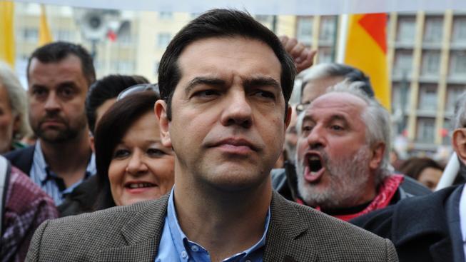 Charizmatický vůdce řecké a brzy i evropské radikální levice Alexis Tsipras