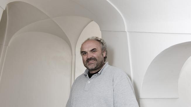 Ředitel Národní galerie Jiří Fajt.