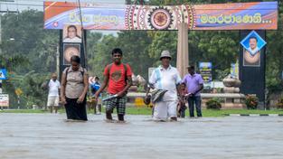 Srí Lanku zasáhly povodně a sesuvy půdy
