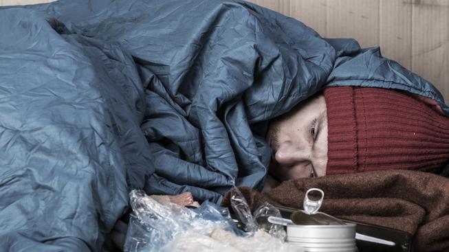 Noclehárny pro bezdomovce nabízejí zatím dost míst. Ilustrační snímek