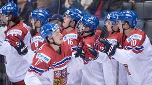 Čeští junioři se na MS dočkali výhry až ve třetím utkání