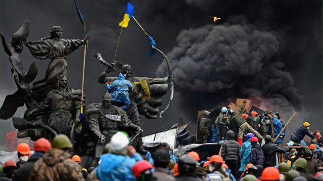 Protivládní povstání na Ukrajině vyprovokovalo události, které se zapíšou do učebnic dějepisu