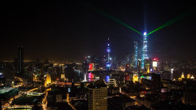 V Šanghaji se slavil Silvestr poněkud brutálně