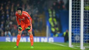 Petr Čech Chelsea v pohárovém klání s Watfordem několikrát podržel