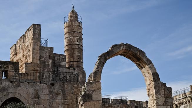 Davidova věž v Jeruzalémě
