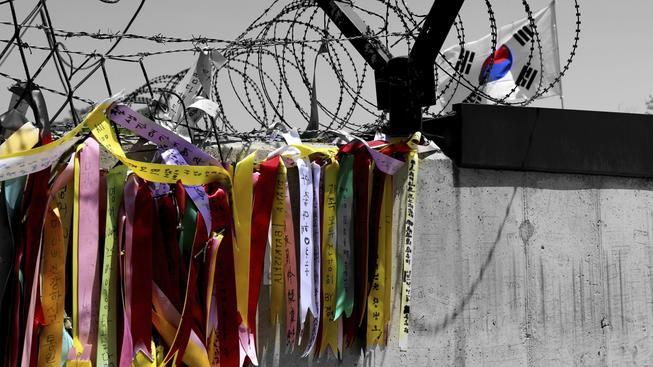 Stuhy mezi Severem a Jihem, v demilitarizované zóně mezi KLDR a jižním sousedem