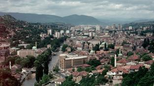 Bosenské hlavní město Sarajevo
