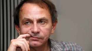 Francouzský spisovatel Michel Houellebecq proslul kontroverzními názory i skandálním vystupováním