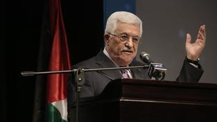 Palestinský prezident Mahmúd Abbás u generálního tajemníka OSN uspěl