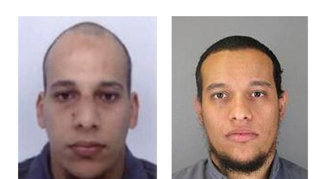 Bratři Chérif a Saíd Kouachiové jsou podezřelí ze spáchání středečního útoku