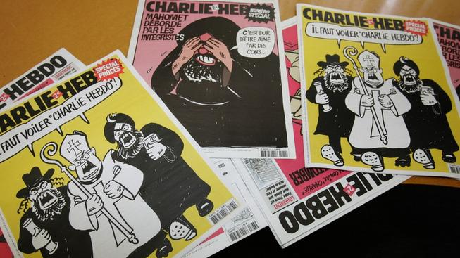 Charlie Hebdo si bral na paškál radikální islám, křesťanství i judaismus