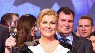 Chorvatskou prezidentkou se stala Kolinda Grabarová Kitarovičová
