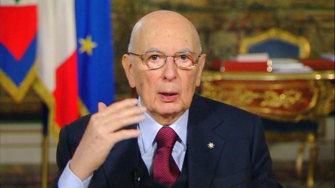 Prezident Giorgio Napolitano ve středu podá demisi