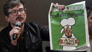 """""""Věděl jsem, že na titulní stránce musí opět být Mohamed. Když jsem ho nakreslil, rozbrečel jsem se,"""" říká karikaturista Renald """"Luz"""" Luzier"""