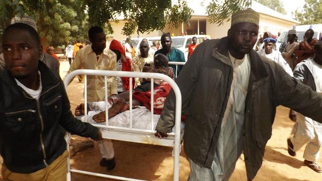 Útoky extremistů z hnutí Boko Haram jsou stále intenzivnější (snímek z jejich útoku v Nigérii)