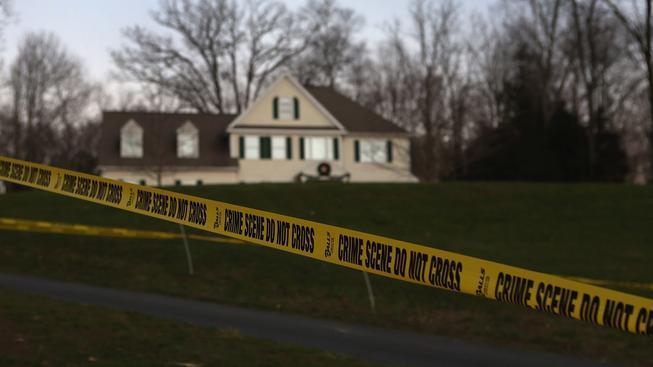 Dům, ve kterém vyrůstal Adam Lanza a ve kterém před útokem na školu zastřelil svou matku