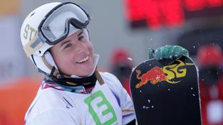 Snowboardistka Ester Ledecká vyhrála na MS paralelní slalom (ilustrační foto)