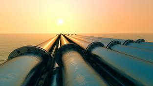 Plynovod, ilustrační foto