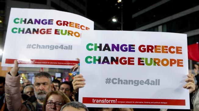 Kampaň před řeckými volbami vrcholí
