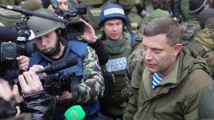 Vůdce vzbouřenců Alexandr Zacharčenko příměří odmítá