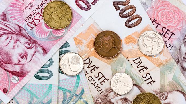 Česká koruna, ilustrační foto