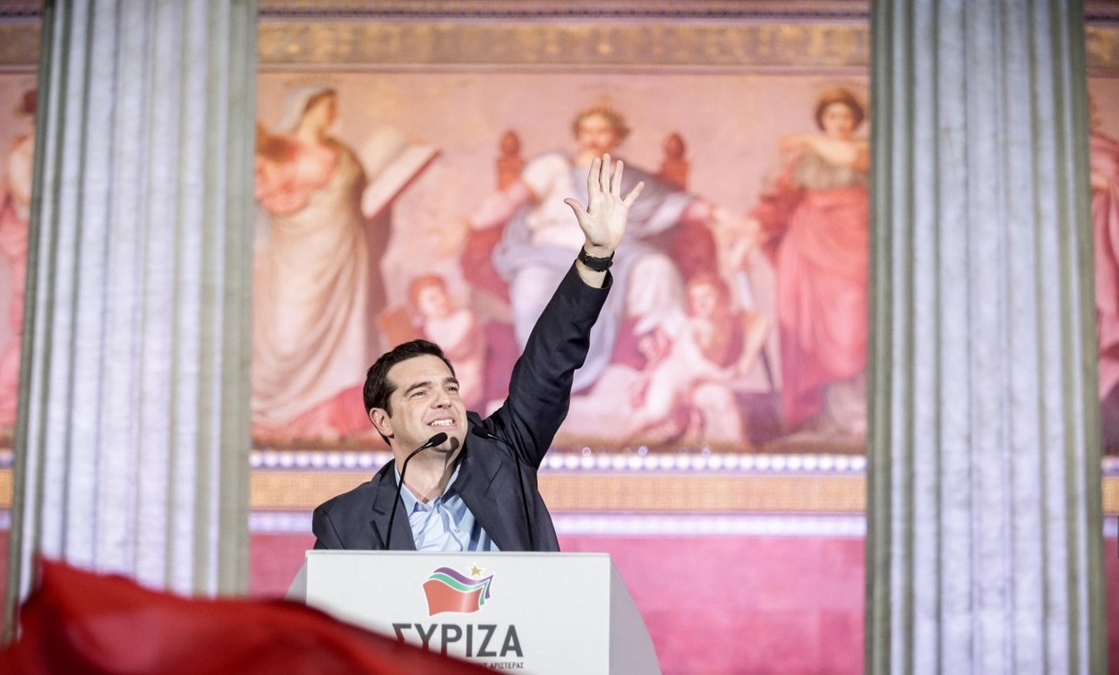 Komentář: Řecká hvězda Alexis Tsipras chce být nadějí celého kontinentu