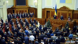 Ukrajinský parlament, ilustrační snímek