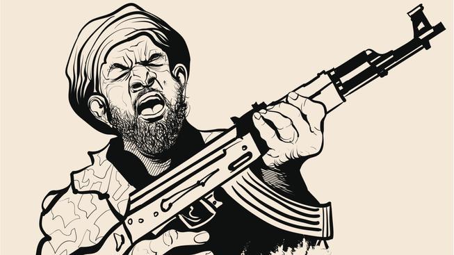 Evropané mají pocit, že čelí válce s islamisty,  Skutečná válka se ale koná v muslimských zemích. Ilustrační snímek