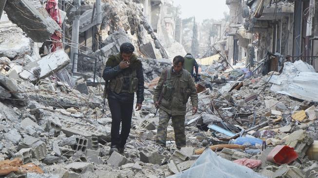 Z Kobani nezbylo v podstatě nic. Město je domovem duchů
