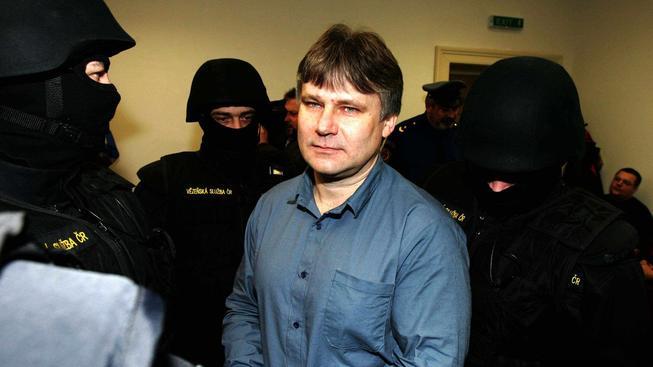 Jiří Kájínek u soudu v roce 2006