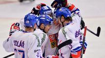 První výhra v sezoně. Hokejisté roznesli Rusko 3:0