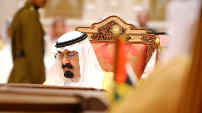 Zesnulý král Abdalláh
