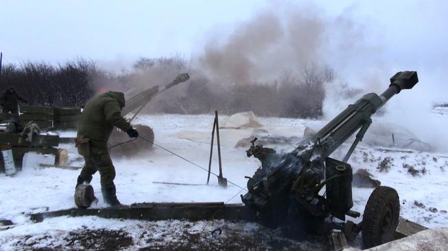 Nyní se bojuje hlavně u východoukrajinského města Debalceve