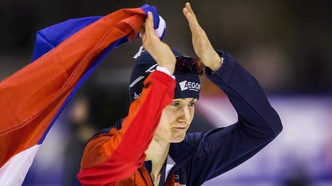 Martina Sáblíková získala na MS v Heerenveenu druhou zlatou medaili