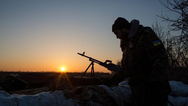Noc na východě Ukrajiny byla poměrně klidná
