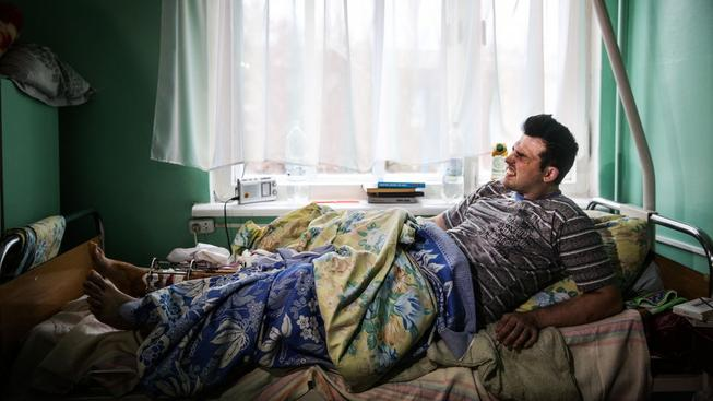Nemocnice v Horlivce jsou přeplněné a mají nedostatek zdravotnického materiálu