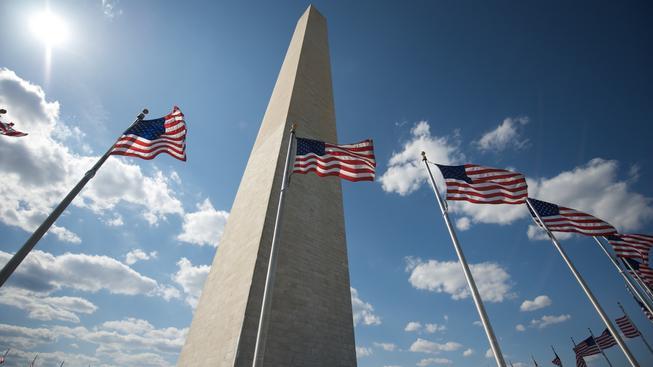 Washingtonský monument je o 25 centimetrů nižší, než se původně udávalo