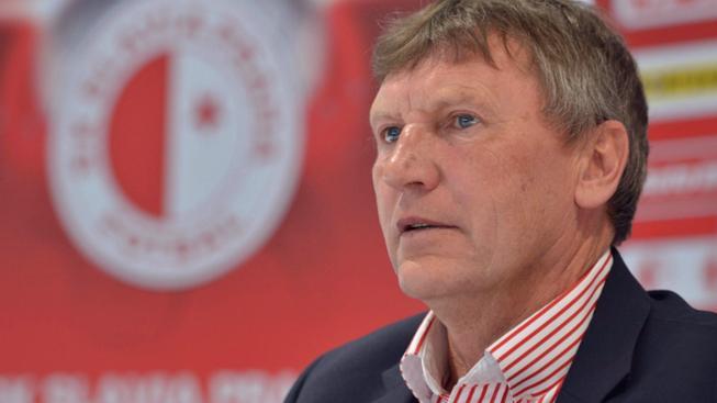Trenér Slavie Miroslav Beránek