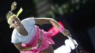 Petra Kvitová zatím na turnaji v Dubaji potvrzuje roli jedné z favoritek