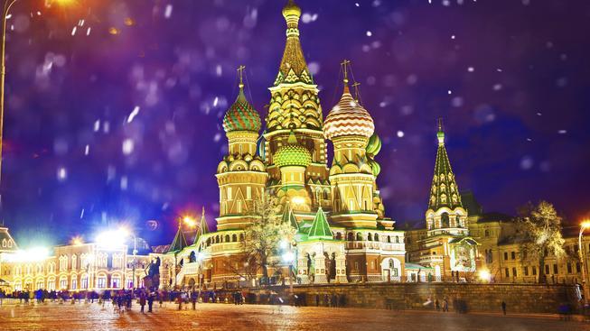 Kreml byl dnes na internetu k mání za kouzelných 11 korun