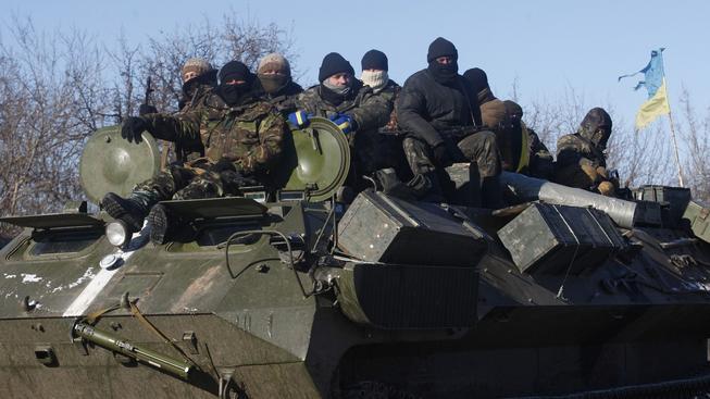 Ukrajinská armáda dostala od prezidenta pokyn stáhnout se z Debalceva