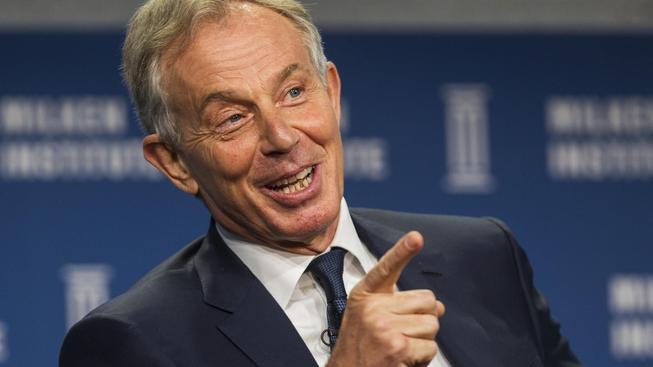 Britský expremiér Tony Blair poradí komukoli