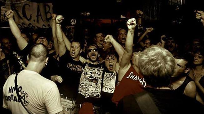 Koncert v klubu Estúdio Noise Terror