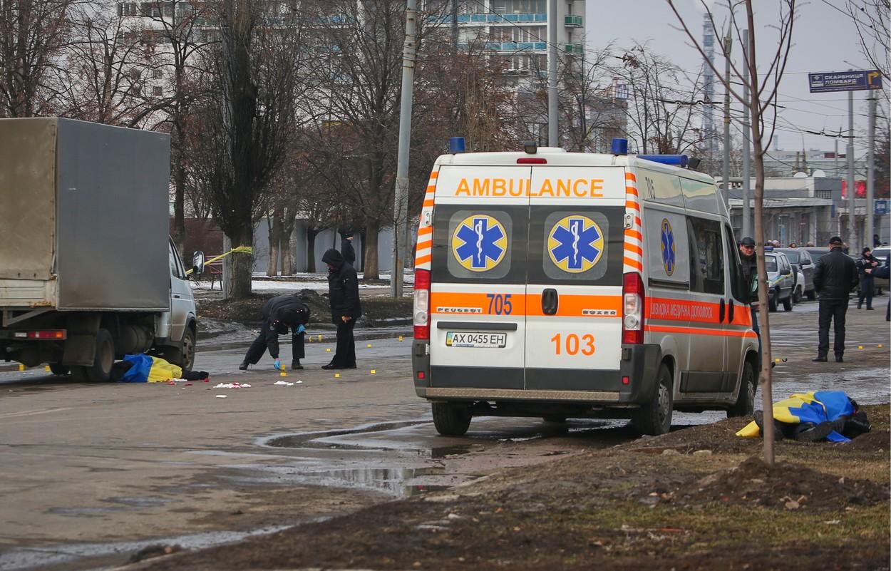 Počet obětí atentátu v Charkově stoupl. Zemřel další zraněný