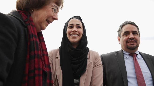 Nejvyšší soud USA se postavil na stranu Samanty Elaufové (uprostřed)